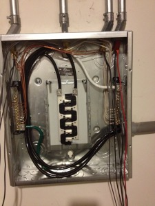 Panel Upgrade From Fuse Box