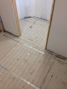 In Floor Tile Heating Cable